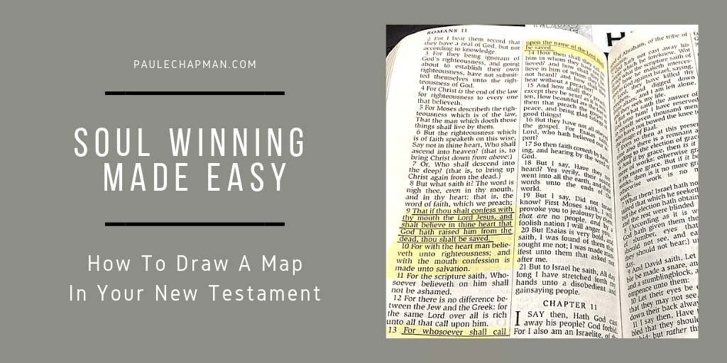Soul Winning Made Easy –  New Testament Map