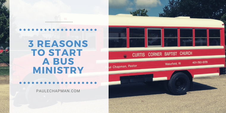 3 Reasons To Start A Bus Ministry