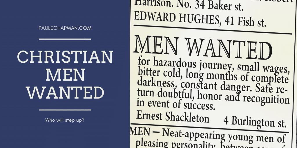 Christian Men Wanted