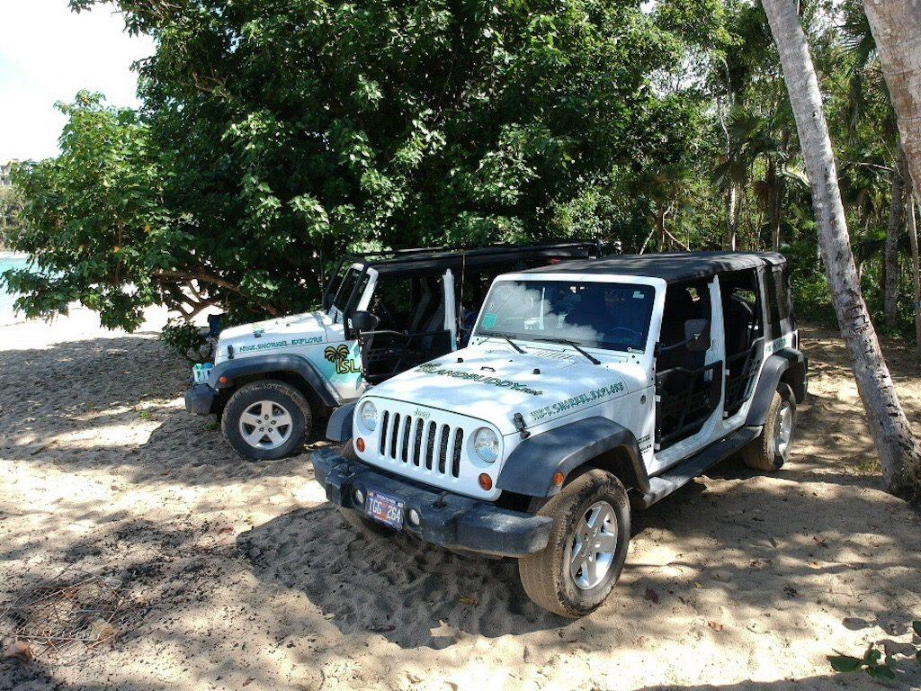 Private Island Jeep Tours US Virgin Islands St Thomas St John