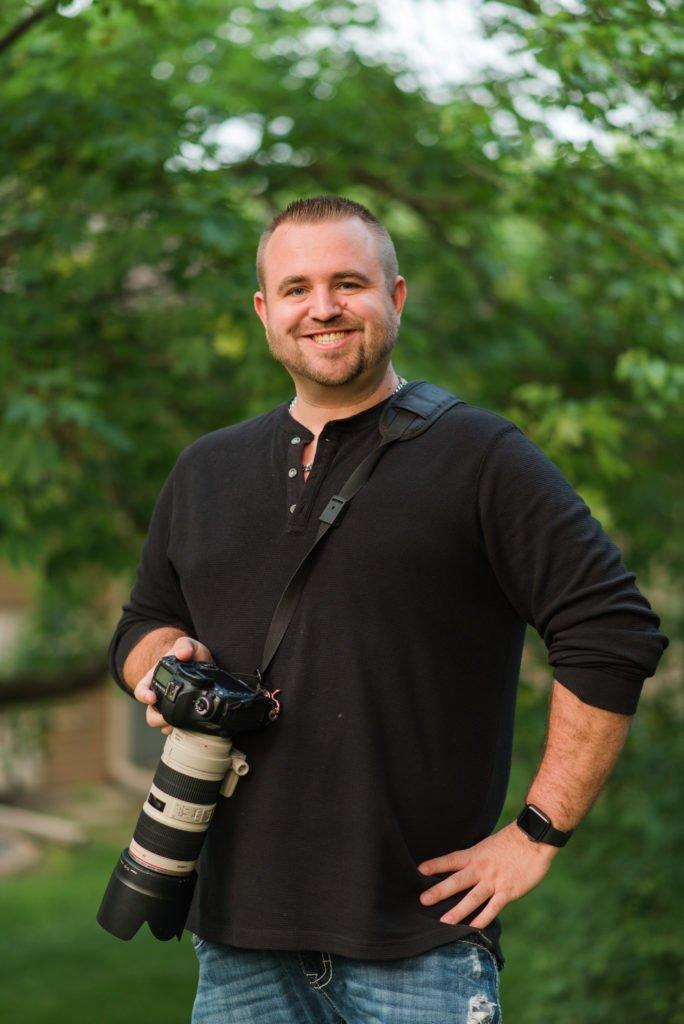 Portrait of Chris Phillips, Opus X Photographer
