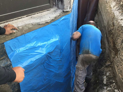 exterior basement waterproofing toronto