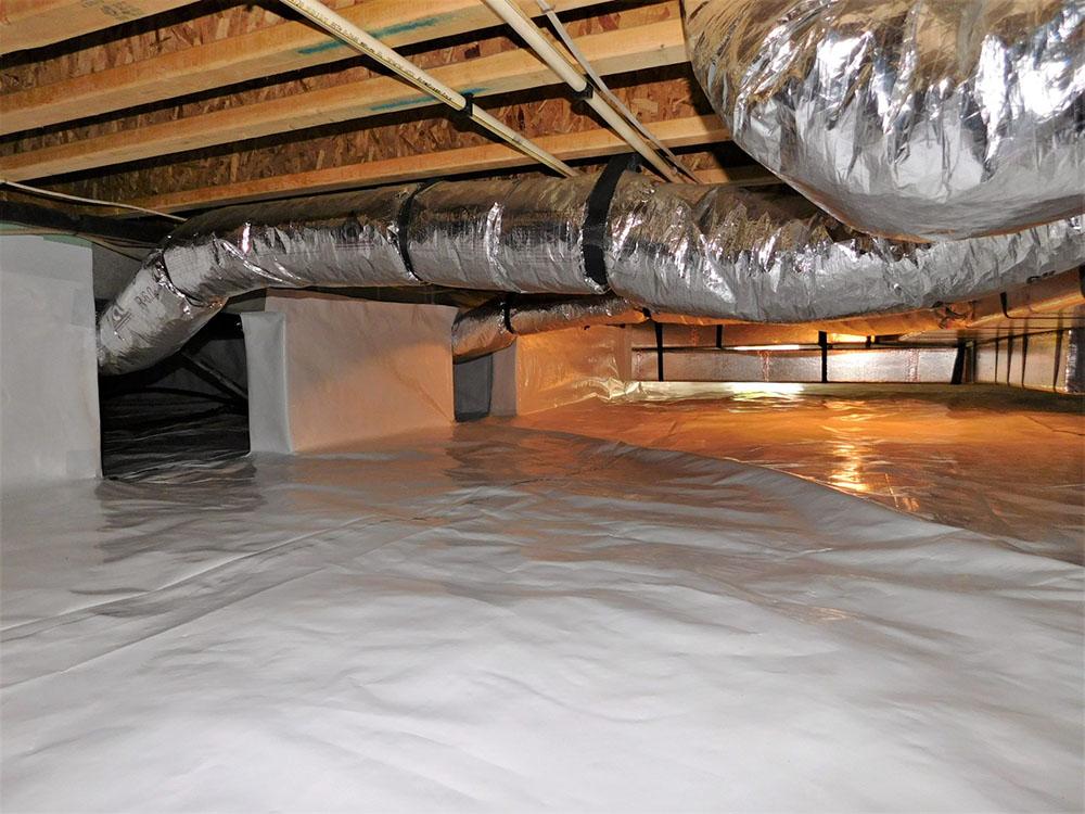 crawl space waterproofing toronto