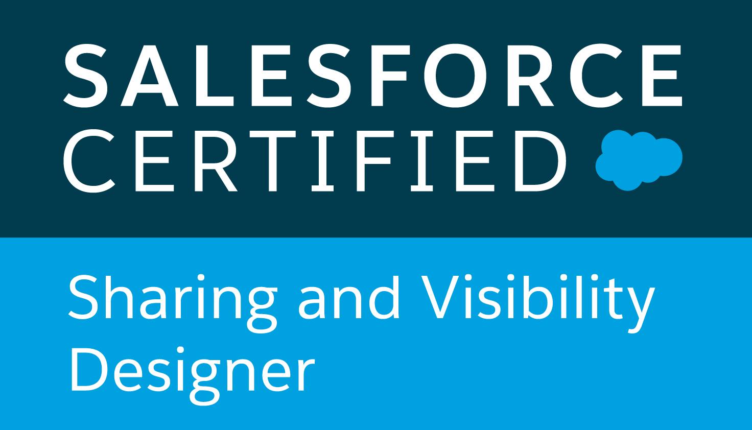 Sharing and Visibility Designer