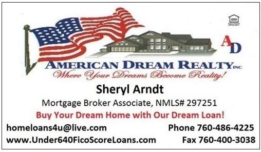 Sheryl Arndt, Broker,ADR business card