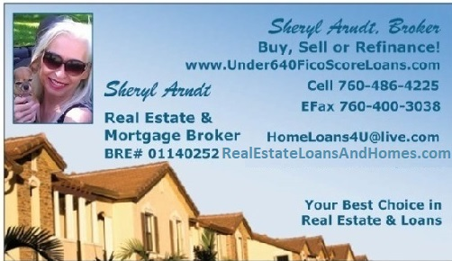 Sheryl Arndt, Broker business card