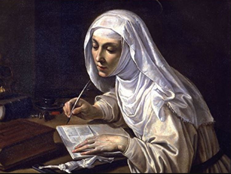 """""""Set aside every fear…"""" with the help of Catherine of Siena"""