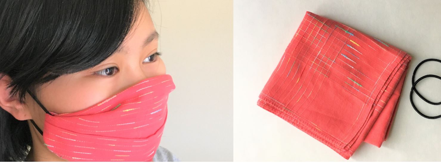 No Sewing Machine? Here are Instructions for a No-Sew Facemask