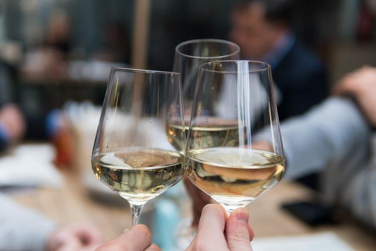 Birthday Celebration with Wine