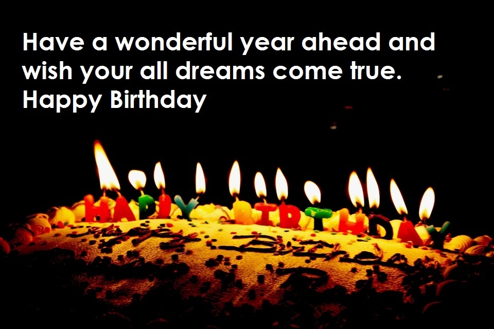 Have a wonderful year ahead and wish your all dreams come true