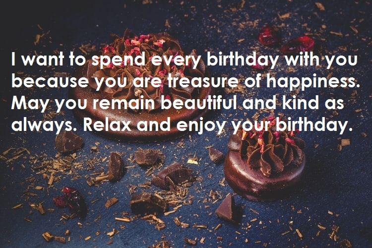 Relax and enjoy your birthday
