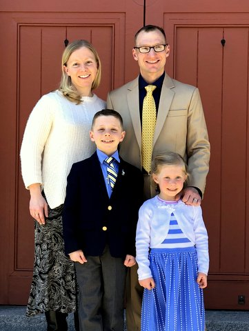2018 First Communion Family