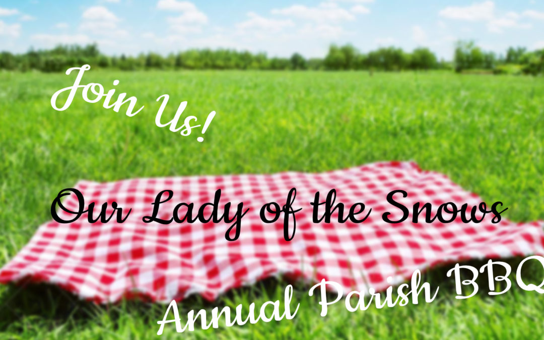 Annual Parish BBQ and Ice Cream Social