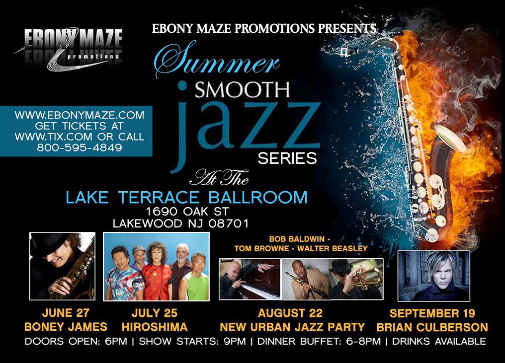 New Urban Jazz Party in New Jersey - 2014