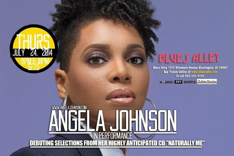 Angela Johnson @ Blues Alley - July 24th, 2014