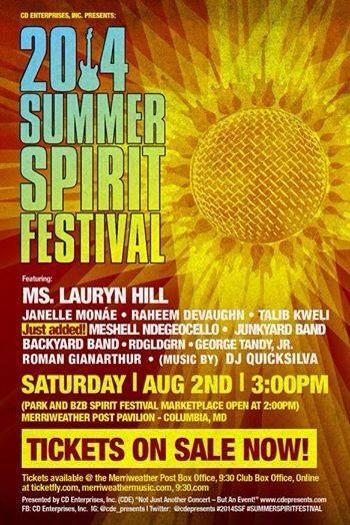 The Summer Spirit Festival - 2014