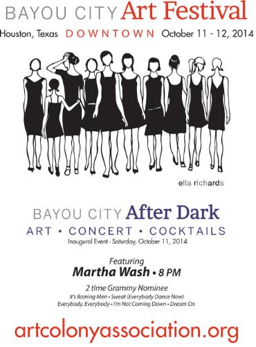 Bayou City Art Festival Bayou City After Dark