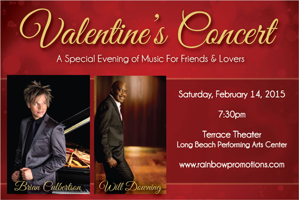 Valentines Concert - Rainbow Productions Feb 14th