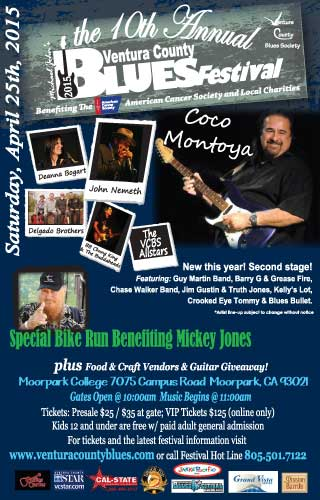 The 10th Annual Ventura County Blues Festival
