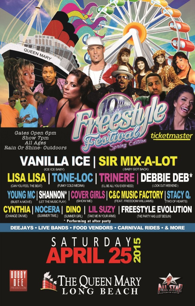 The 10th Annual Freestyle Festival - 2015