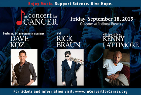 In Concert for Cancer Poster