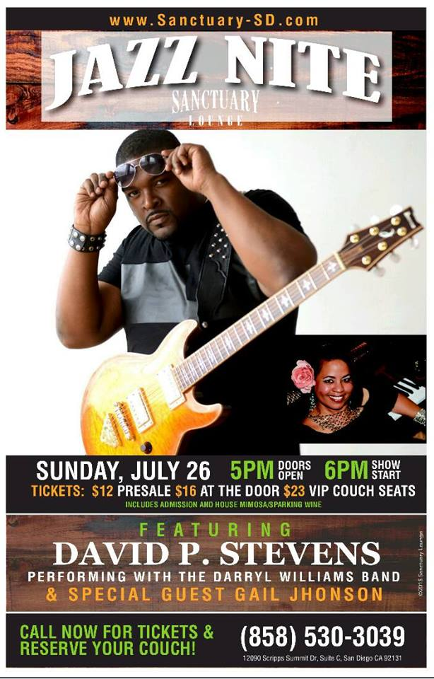 David P Stevens LIVE in concert - July 26th, 2015