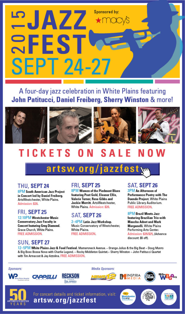 White Plains Jazz Fest - 2015