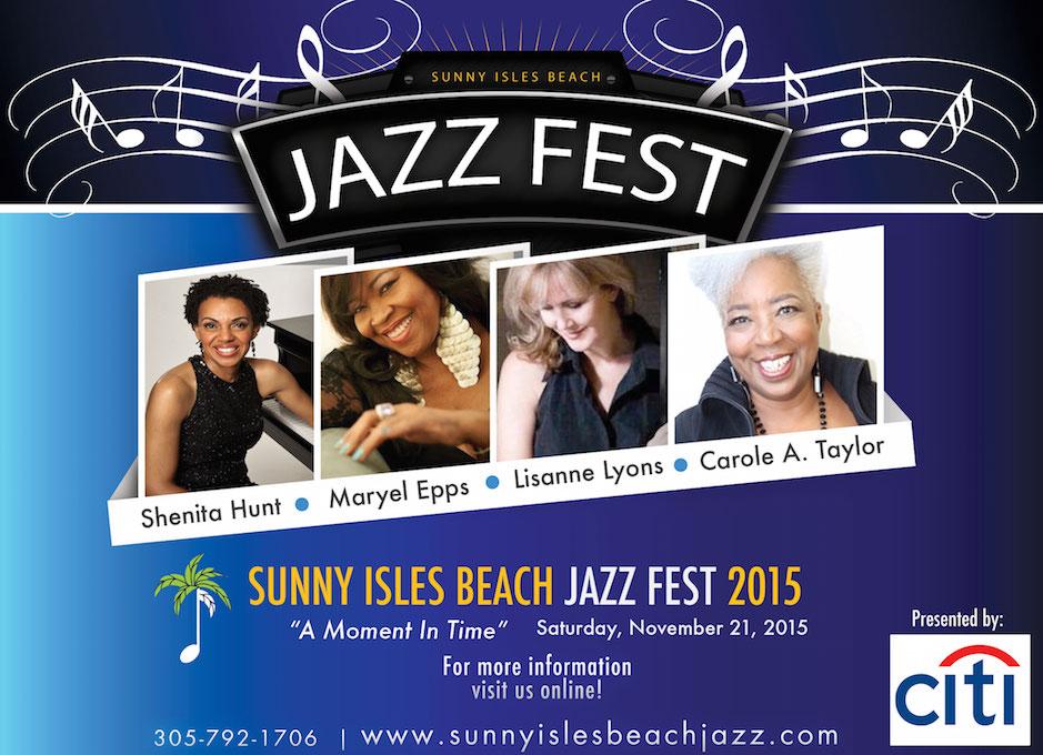 sunny isles jazz fest 2015