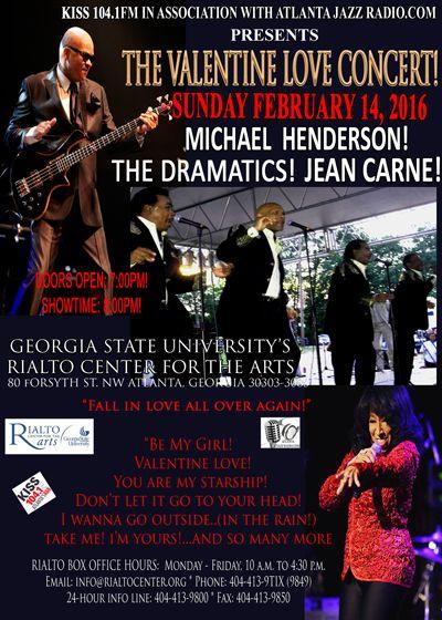The Valentine Love Concert in Georgia - 2016