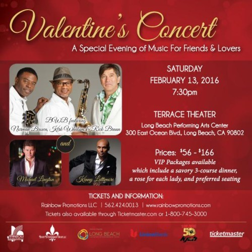 Valentines Concert - Long Beach 2016