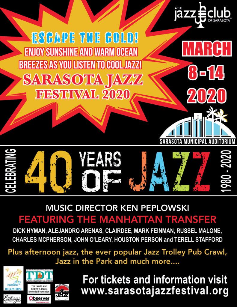 2020 Christmas Music Sarasota Radio 40th Annual Sarasota Jazz Festival | March 8th 14th, 2020