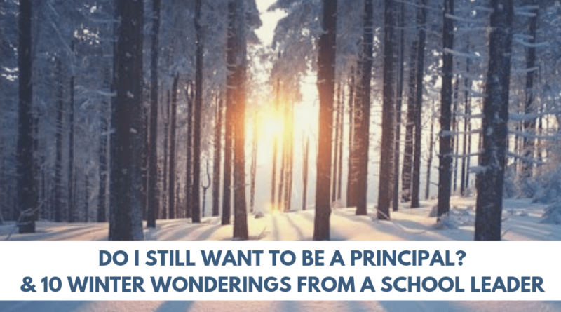 Do I still want to be a principal - Culturally Responsive Leadership