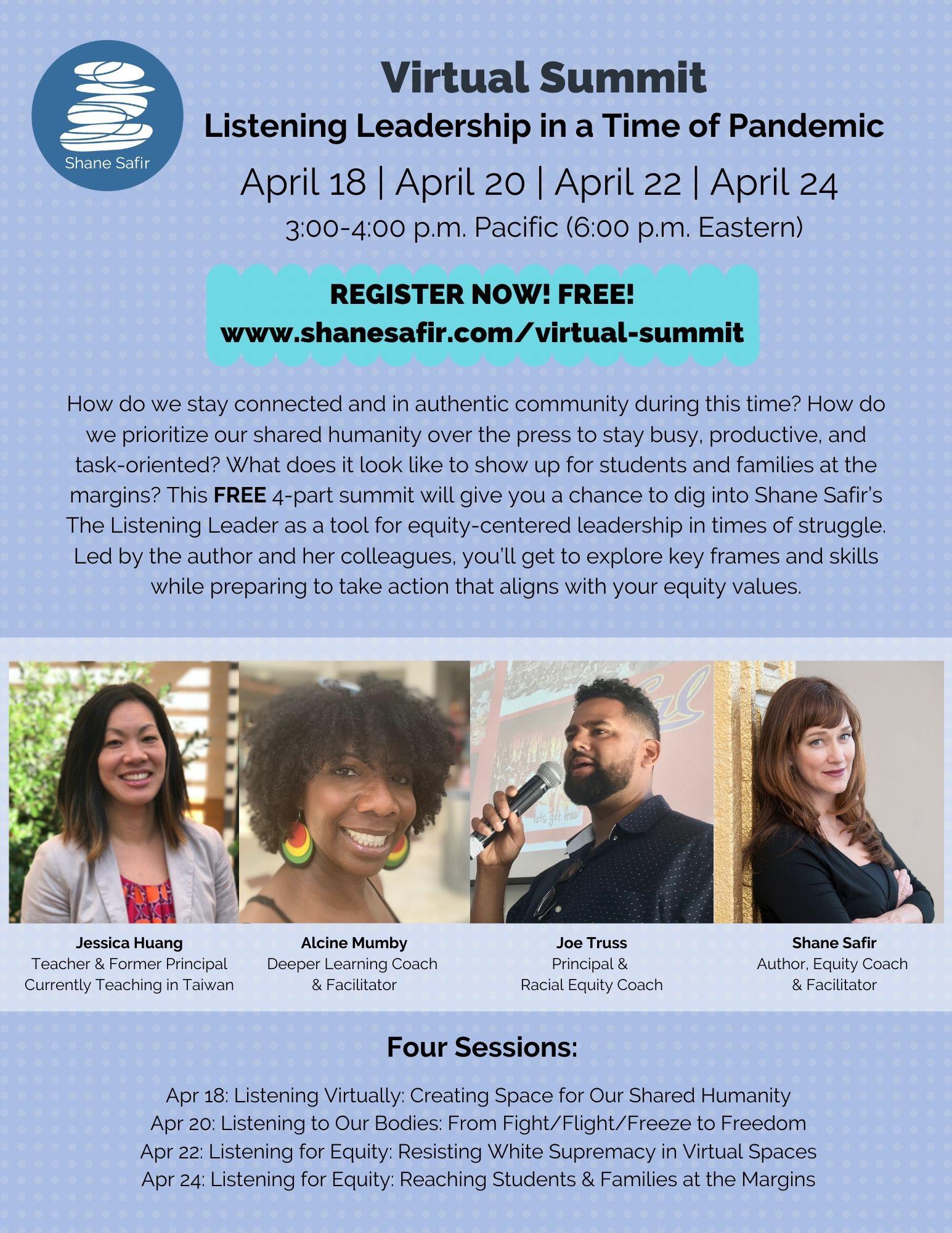 safir equity summit flyer