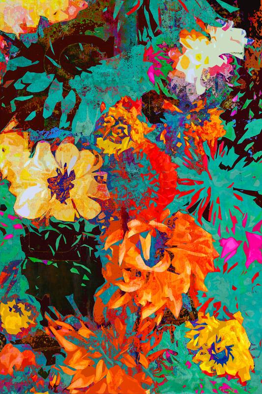 Botanic Layers - Ari Rosenthal Fine Art