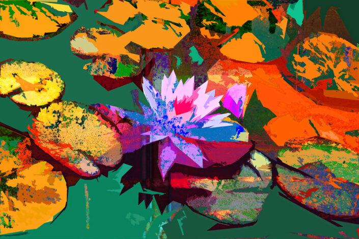 Botanic Lilly - Ari Rosenthal Fine Art