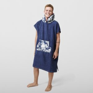 Bomb Waves Surf Poncho