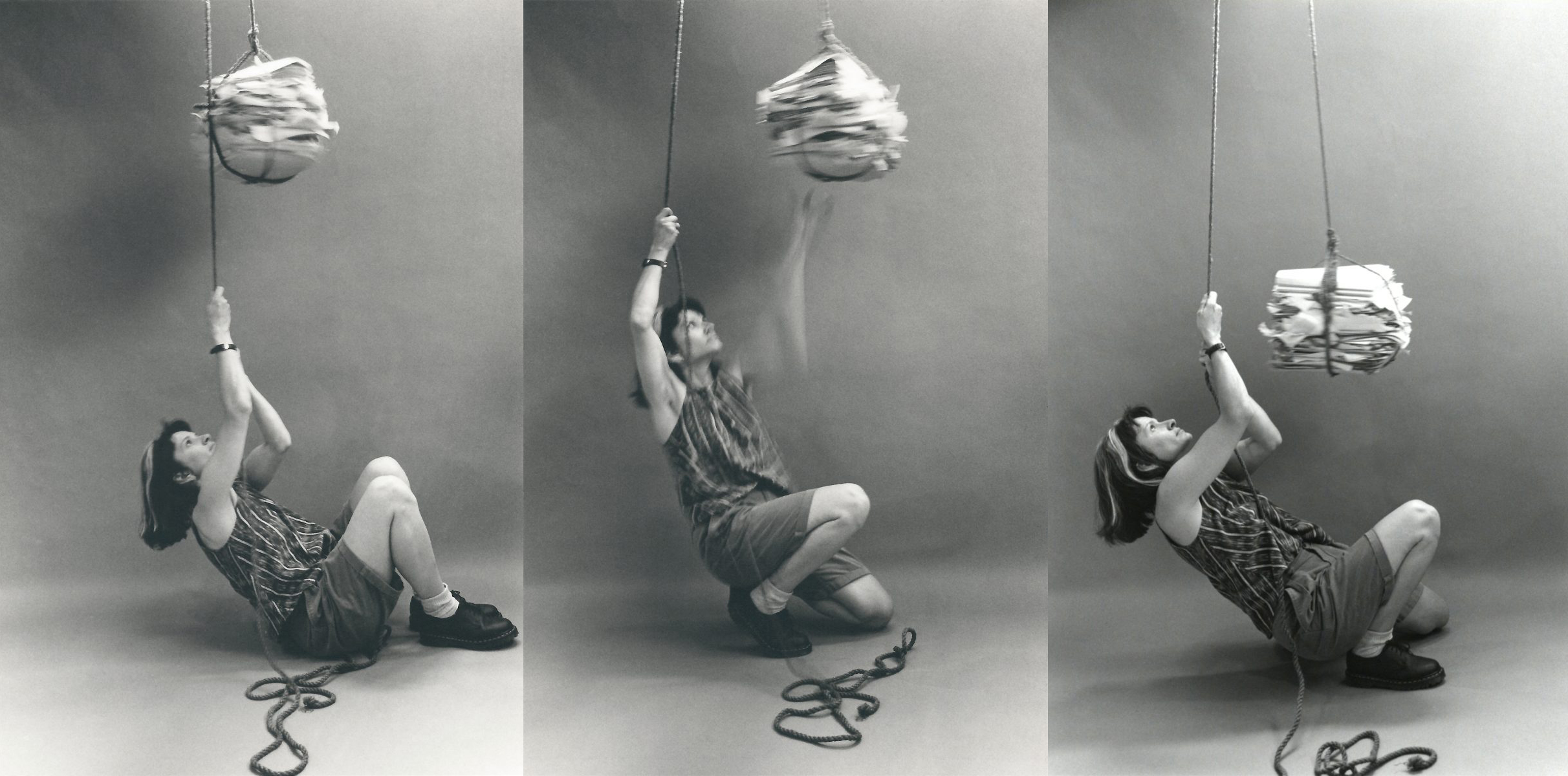 Self Portrait with Files (Pulley)