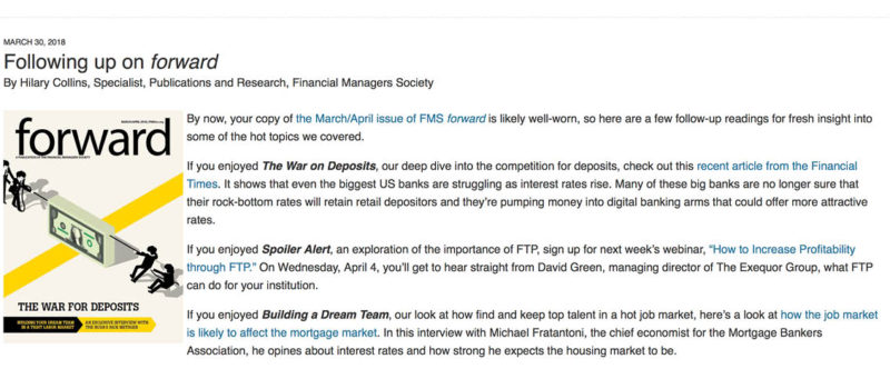 Featured in FMS Forward David Green Advisors