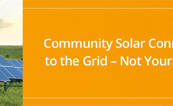 Community solar billboard