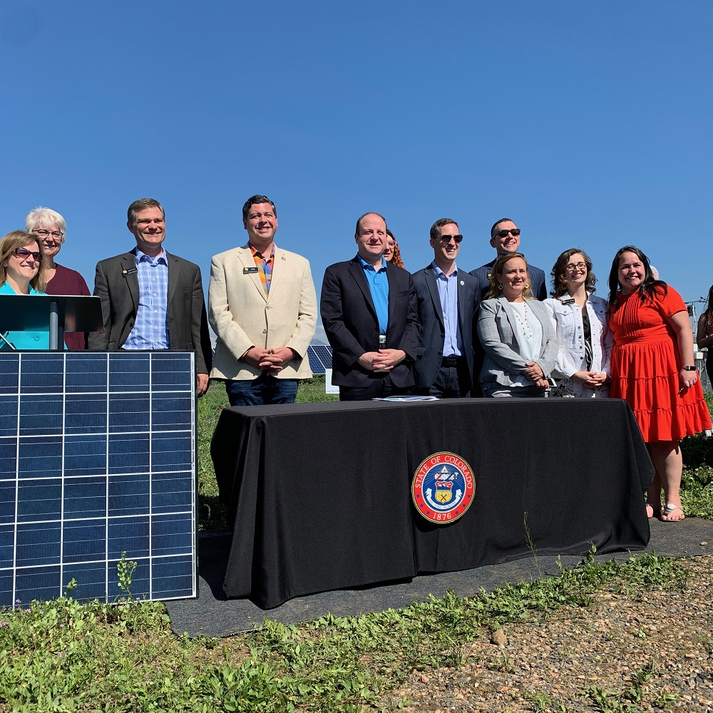 Polis signs seven bills focused on renewable energy