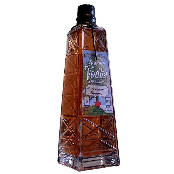 Strawberry Rhubarb Vodka - Rig Hand Distillery