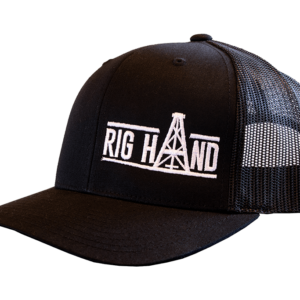 Black Brim Ball Cap - Rig Hand Distillery