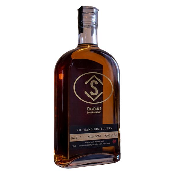 Diamond S Single Malt Whisky - Rig Hand Distillery