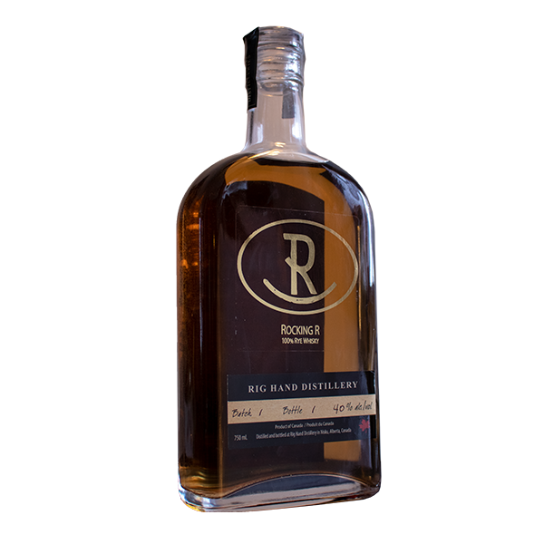 Rocking R 100% Rye Whisky - Rig Hand Distillery