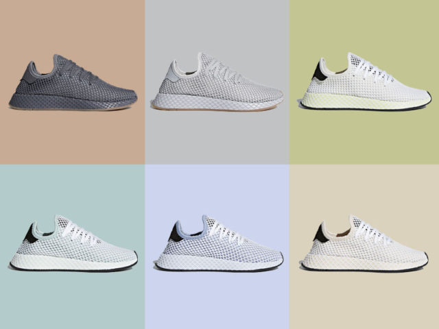 adidas releases 6 new colorways for the adidas Deerupt