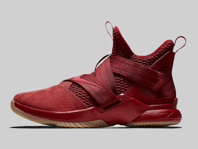 Nike releases the LeBron Soldier 12 in Team Red