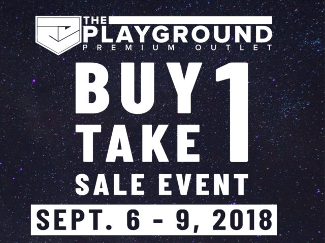 SALE ALERT: The Playground Premium Outlet's Buy 1 Take 1 Sale Event Is Happening Soon