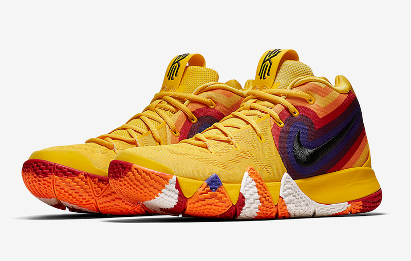colorful Kyrie 4 - Sole Movement