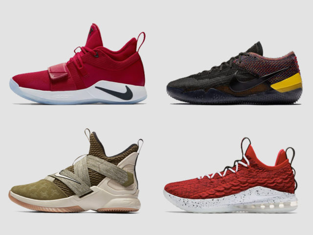 Nike Basketball bust out new silhouettes this September