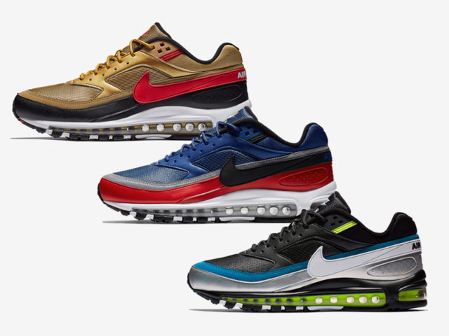 MORE AIR: THE NIKE AIR MAX 97/ BW COMES IN THREE NEW COLORWAYS